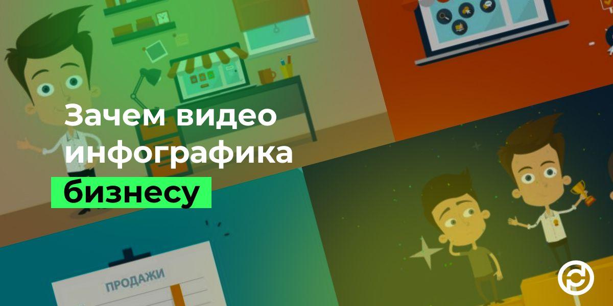 инфографика видео, Зачем видео инфографика нужна бизнесу
