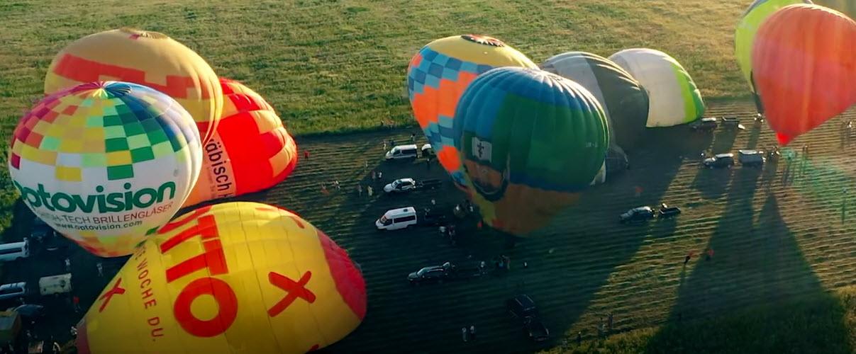 Промо фестиваля шаров