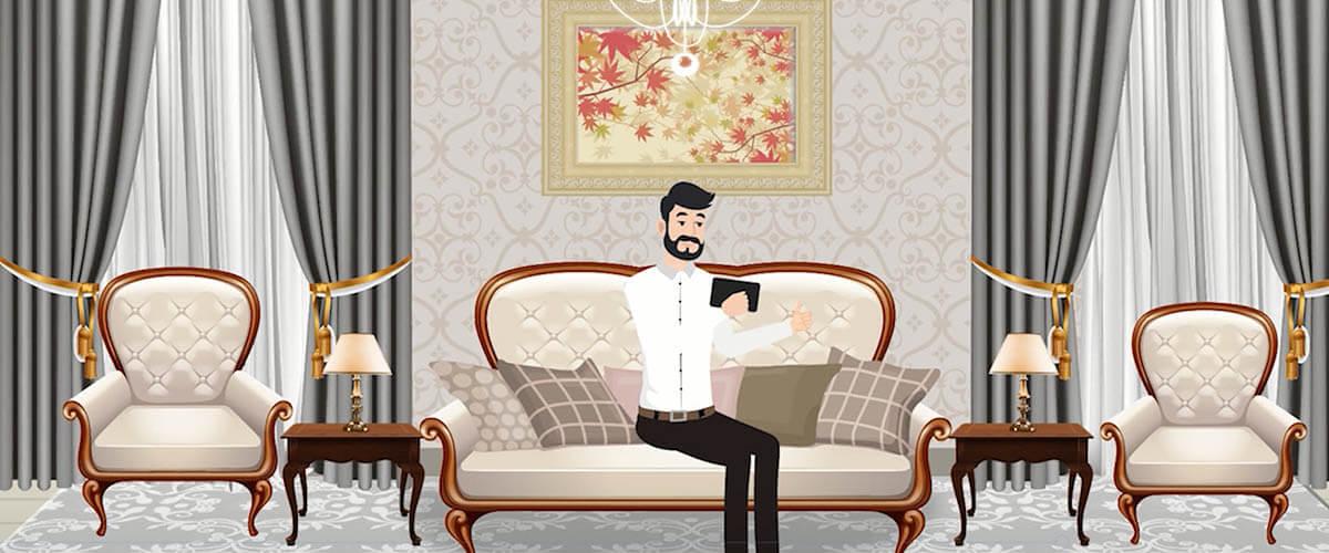 Cartoon for Furniture Valencia